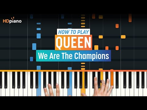 How To Play We Are The Champions  Queen  HDpiano Part 1 Piano Tutorial