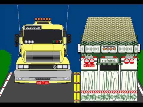 desenho caminhão vitor..