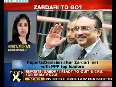 Pakistan President Zardari offers to resign, says reports