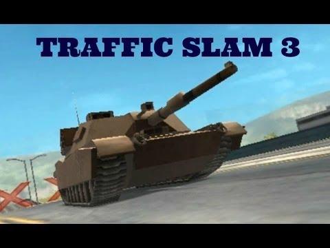 Juego de Autos 12: Traffic Slam 3 FINAL-RECORD Tanque de Guerra Destruye Ciudad.