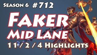SKT T1 Faker - Viktor vs Yasuo - KR LOL SoloQ Highlights
