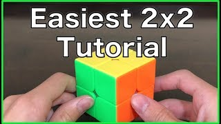 How to Solve a 2x2 Rubik's Cube - New, Easier Method in HD