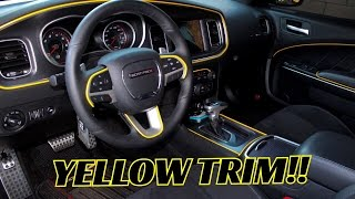 2016 Dodge Charger Scat Pack Mod (Yellow Interior Trim)