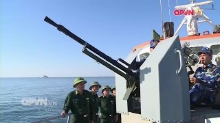 Biên phòng truy quét tàu lạ xâm phạm lãnh hải Việt Nam