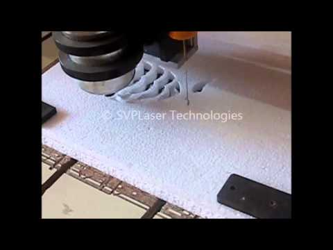 CNC Thermocol cutting