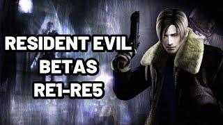 Resident Evil Betas