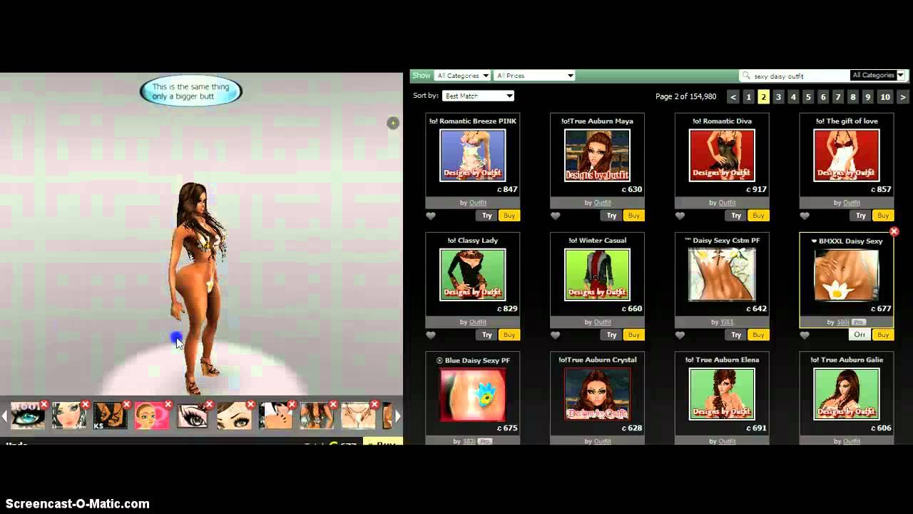 Get Naked Without AP on IMVU - YouTube