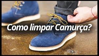 MachoModa TV #11 - Como Limpar Calçado de Camurça?