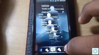Sony Ericsson Xperia Neo V Detailed Review Part 5 - Timescape UI