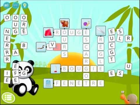 Happi schreibt lernspiel app für kinder kreuzworträtsel app