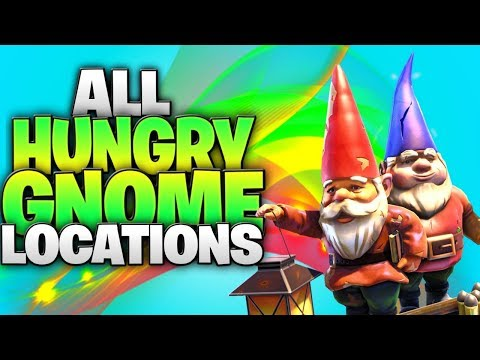 """Search Hungry Gnomes"" - All 14 Hidden Hungry Gnome Locations! (Week 8 Hungry Gnome Challenge)"
