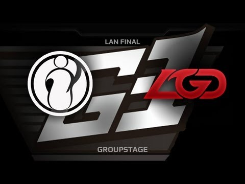 G1 League LAN Final  Groupstage  iG vs LGDcn