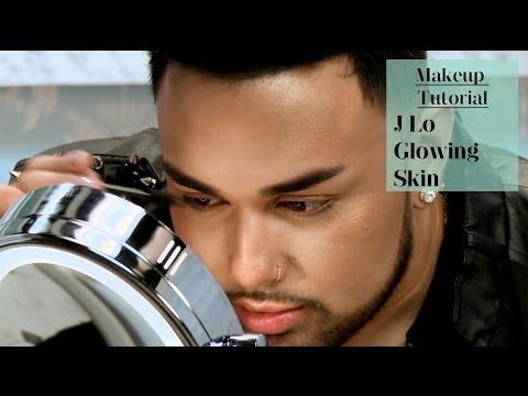 J Lo Glowing Skin Tutorial   @mac_daddyy for ModaMob #3