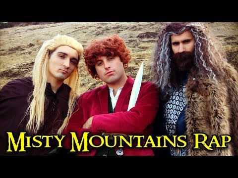 THE HOBBIT - MISTY MOUNTAINS RAP Music Videos