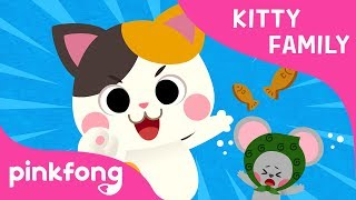 Kitty Family | Animal Song | Meow Meow Meow | Pinkfong Songs for Children