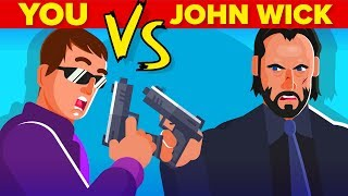 YOU vs JOHN WICK - How Can You Defeat and Survive Him (John Wick Movie 2019)