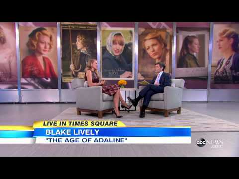Blake Lively on Good Morning America (April 21)