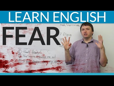 Learn English Vocabulary: Talking About Fear video