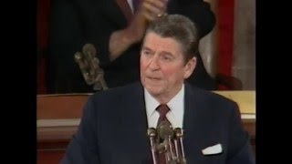 President Reagan's State of the Union Address to Congress, January 26, 1982