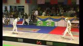 SEA-Games 2007 Final Fight Sabre Team Part 1