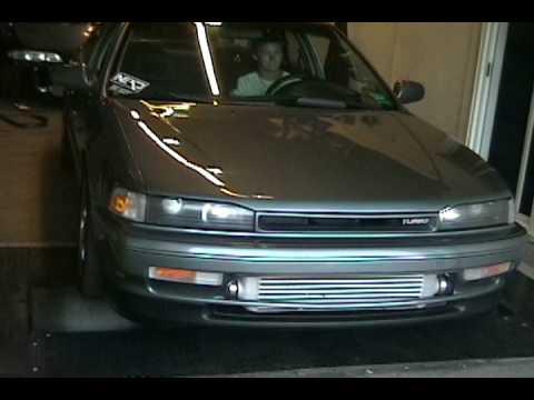 92 Accord Turbo Compilation - YouTube