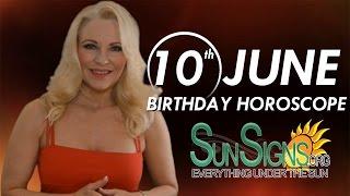 Birthday June 10th Horoscope Personality Zodiac Sign Gemini Astrology