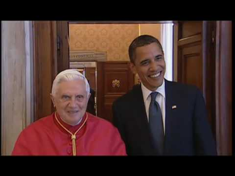 President Obama meets pope in the Vatican