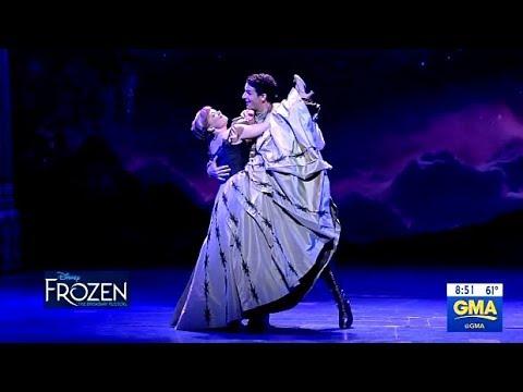 Frozen Broadway Performance Of