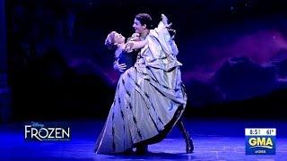 """Frozen Broadway Performance Of """"Love Is An Open Door""""  (GMA)"""