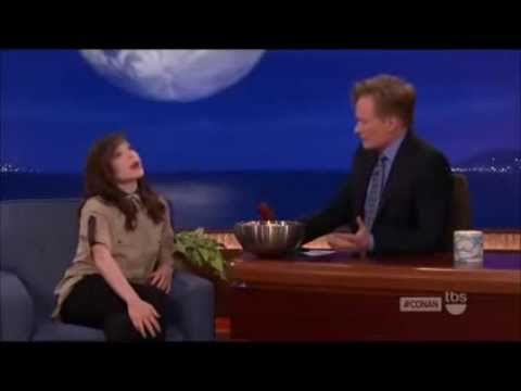 Ellen Page on Conan O'Brien