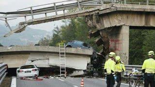 Ngeri!! Detik - Detik Jembatan Runtuh