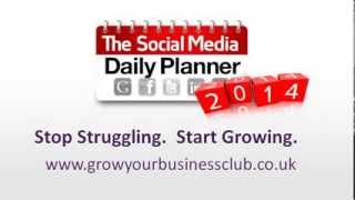 How To Write A Social Media Marketing Plan | Social Media Daily Planner