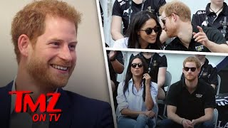 Prince Harry Gets Handsy With Meghan Markle | TMZ TV