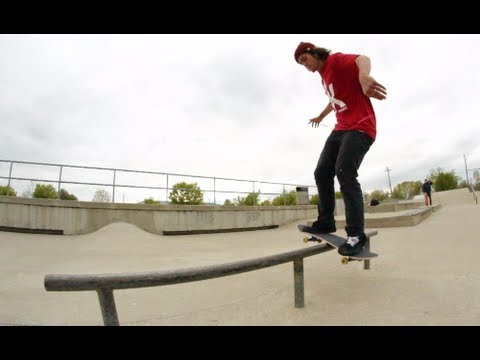 Perfect Shuv It Lipslide Fakie!