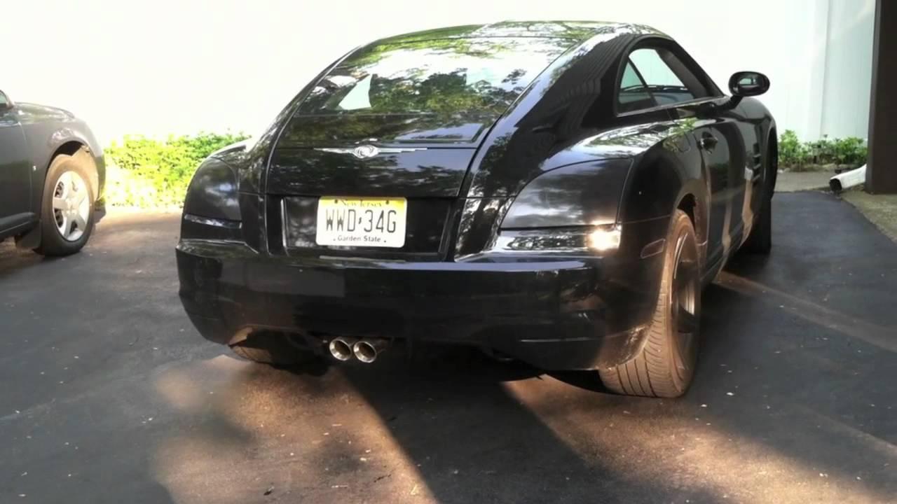 Chrysler Crossfire Custom Cat Back Exhaust Mov Youtube