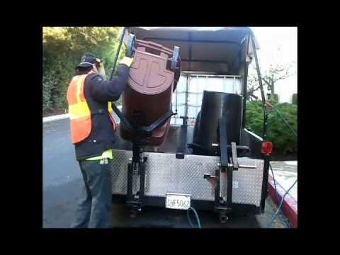 Trash Can Cleaning By Power Clean Green Youtube