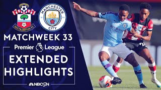 Southampton v. Manchester City | PREMIER LEAGUE HIGHLIGHTS | 7/5/2020 | NBC Sports