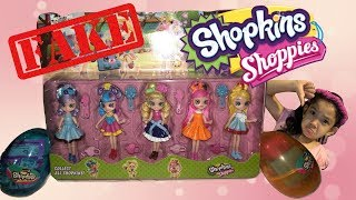 FAKE SHOPKINS SHOPPIES! GUESS THE FAKES