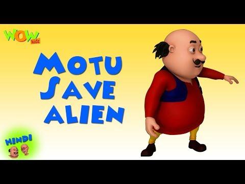 Motu Saves alien - Motu Patlu in Hindi - 3D Animation Cartoon - As on Nickelodeon thumbnail