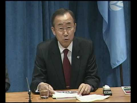 MaximsNewsNetwork: MILLENNIUM DEVELOPMENT GOALS SUMMIT - UN's BAN KI-MOON (UNTV)