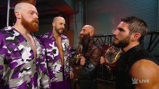 WWE 2K19 Smackdown 2-19-19 DIY Vs The Bar