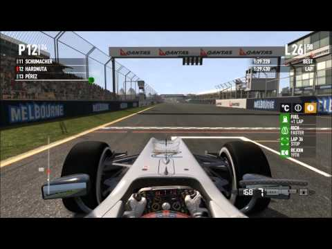 Formula One 2011 (F1) Australia (Melbourne) Career HRT