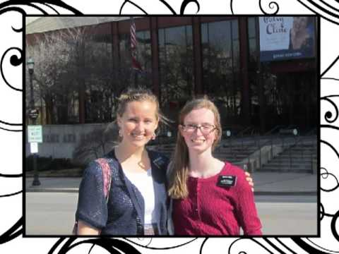 """Nearer My God To Thee"" sung by Tennessee LDS Missionary Sisters Abel and Nordstrom"