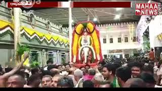 మంత్రాలయం లో ఘనంగా ఉత్సవాలు    MAHAA NEWS