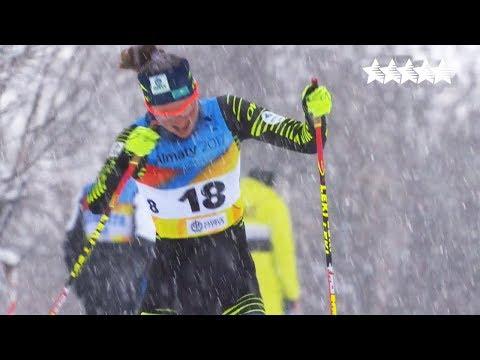 Cross Country skiing ladies 5km Free - 28th Winter Universiade 2017, Almaty, Kazakhstan