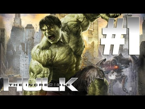 The Incredible Hulk: The Videogame - Walkthrough part 1 (HD) - (Xbox 360 / PS3 / PC)