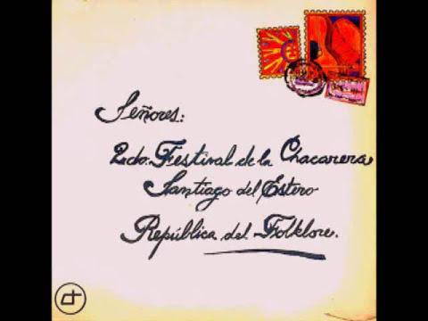 2º Festival de la Chacarera (1972)  -Disco Entero-