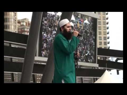 junaid jamshed real face.wmv