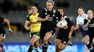 MATCH HIGHLIGHTS: Black Ferns v Wallaroos - Eden Park 2019