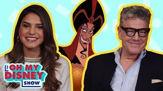 Watch a Disney Movie With ... Aladdin's Jonathan Freeman | Oh My Disney Show